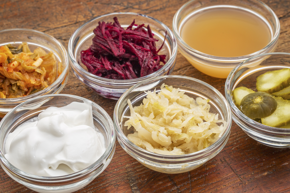 probiotic food source yogurt sauerkraut miso pickle