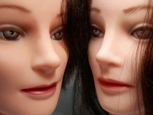 head shot of sex dolls