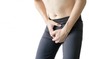 pain in the male reproductive parts